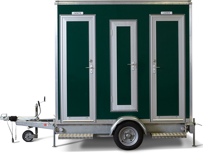 1+1 Compact Trailer hireable for your event